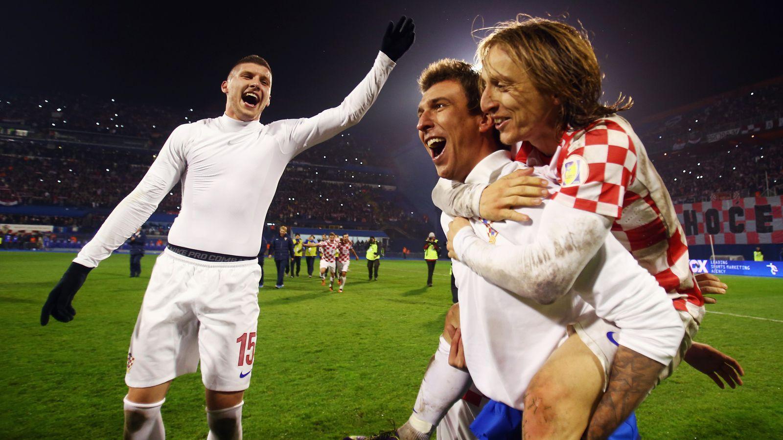 World Cup 2014 Squads Luka Modrić And Mario Mandžukić