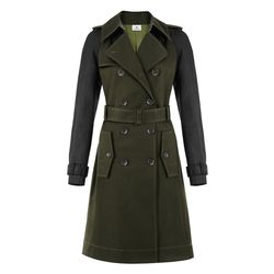 Trench Coat in Military Green/Black, $89.99 (Available exclusively on Target.com and Net-A-Porter)