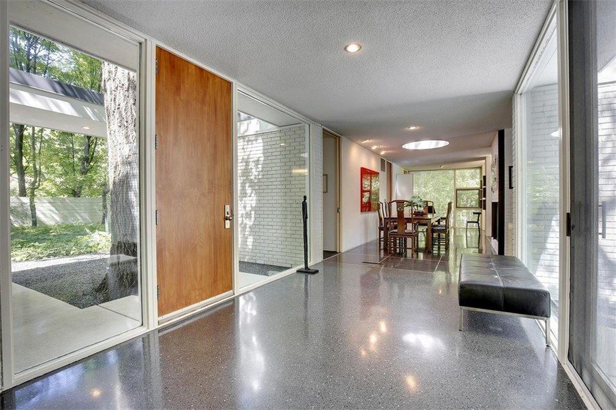 Restored Ralph Rapson Modernist Charmer Wants $750K - Curbed on richard meier homes, derek jeter homes, paul rudolph homes, pietro belluschi homes, minneapolis homes, richard neutra homes, madonna homes, bruce goff homes, marcel breuer homes, tadao ando homes, michigan homes, michael graves homes, gerald ford homes,