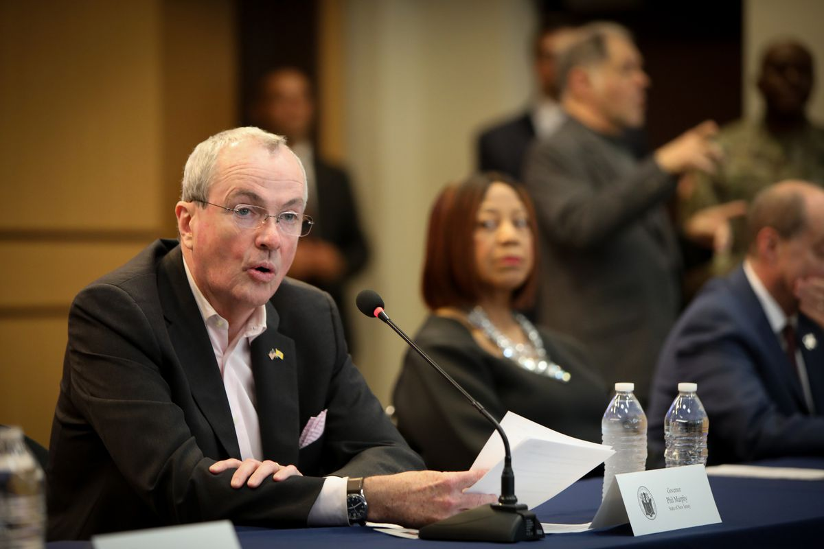 """New Jersey Gov.Phil Murphy said Friday that prolonged school closures are """"inevitable"""" as the state races to contain the coronavirus."""