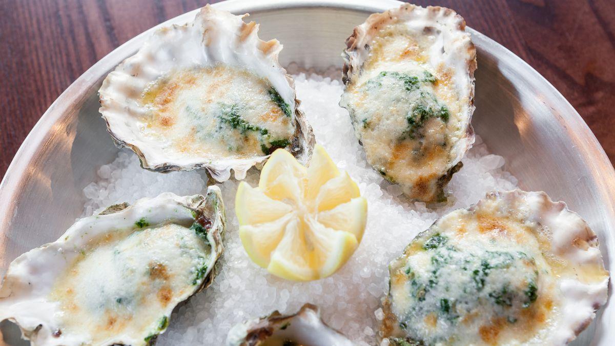 Oysters Rockafella