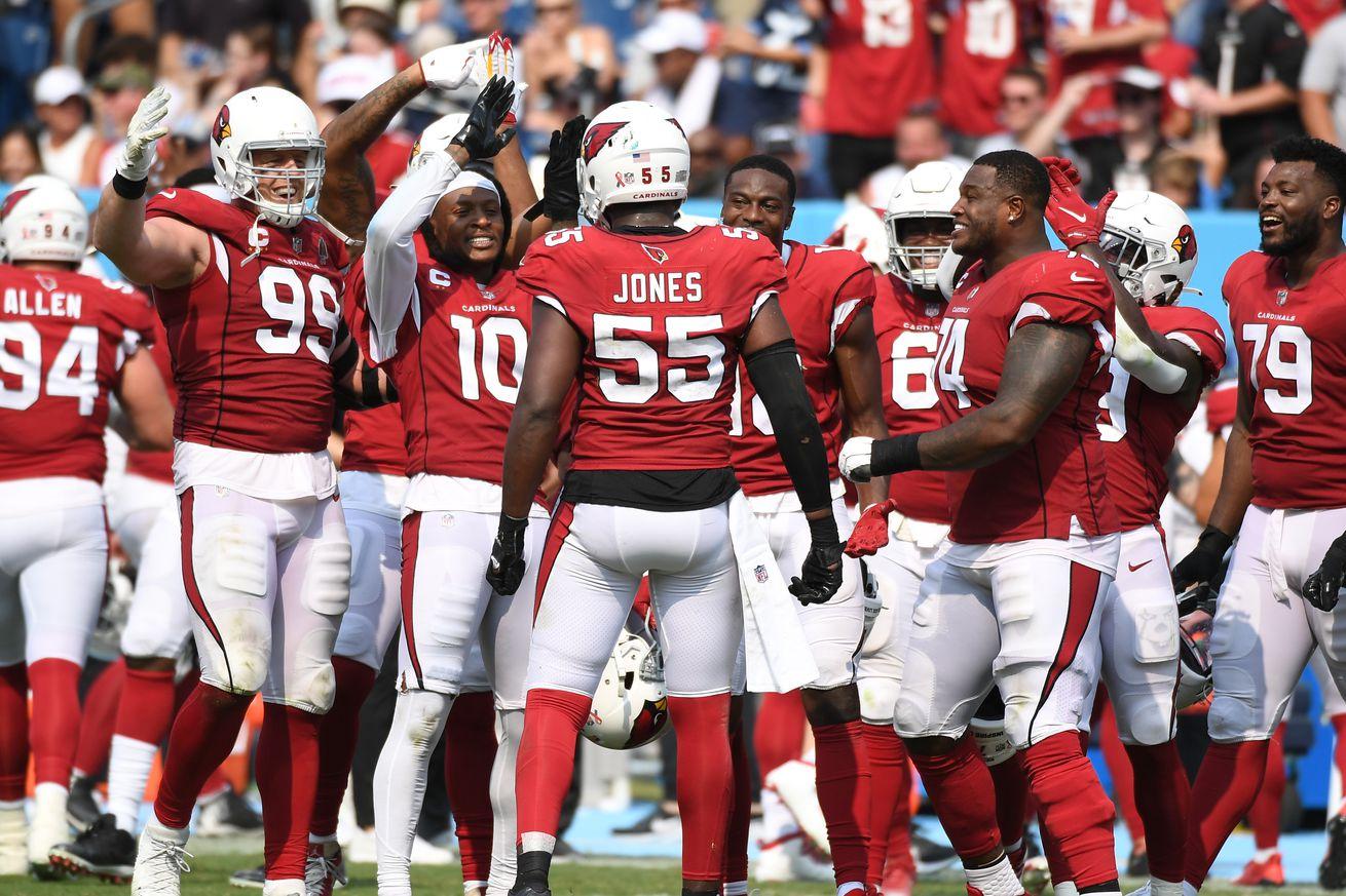 NFL: Arizona Cardinals at Tennessee Titans