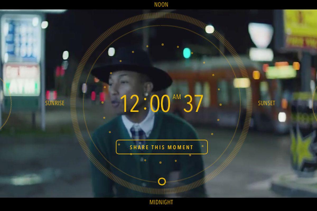 e653e22ab74c7 Pharrell Williams debuts 24-hour
