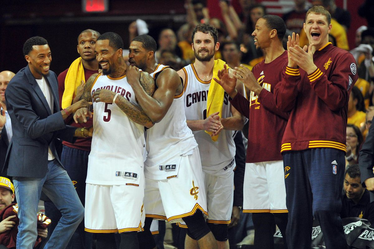 new style 1312a 4c442 NBA Playoffs 2016: The Cavaliers starting 5 is getting it ...