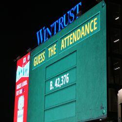 Official attendance