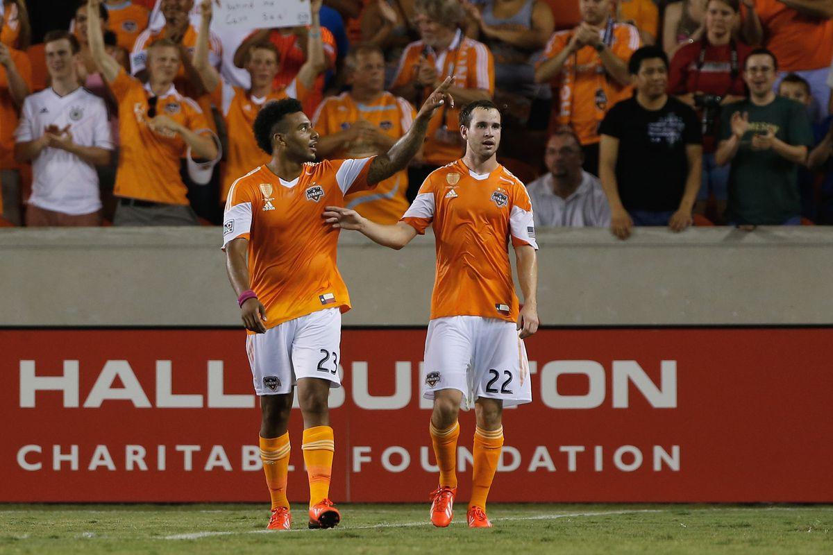 The Houston Dynamo fell 1-0 to Aston Villa FC in the Dynamo Charities Cup