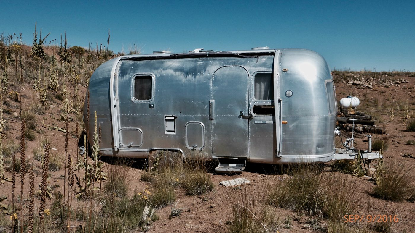 Airstream Caravan Vintage airstream trailer is 140 square feet of vintage style made