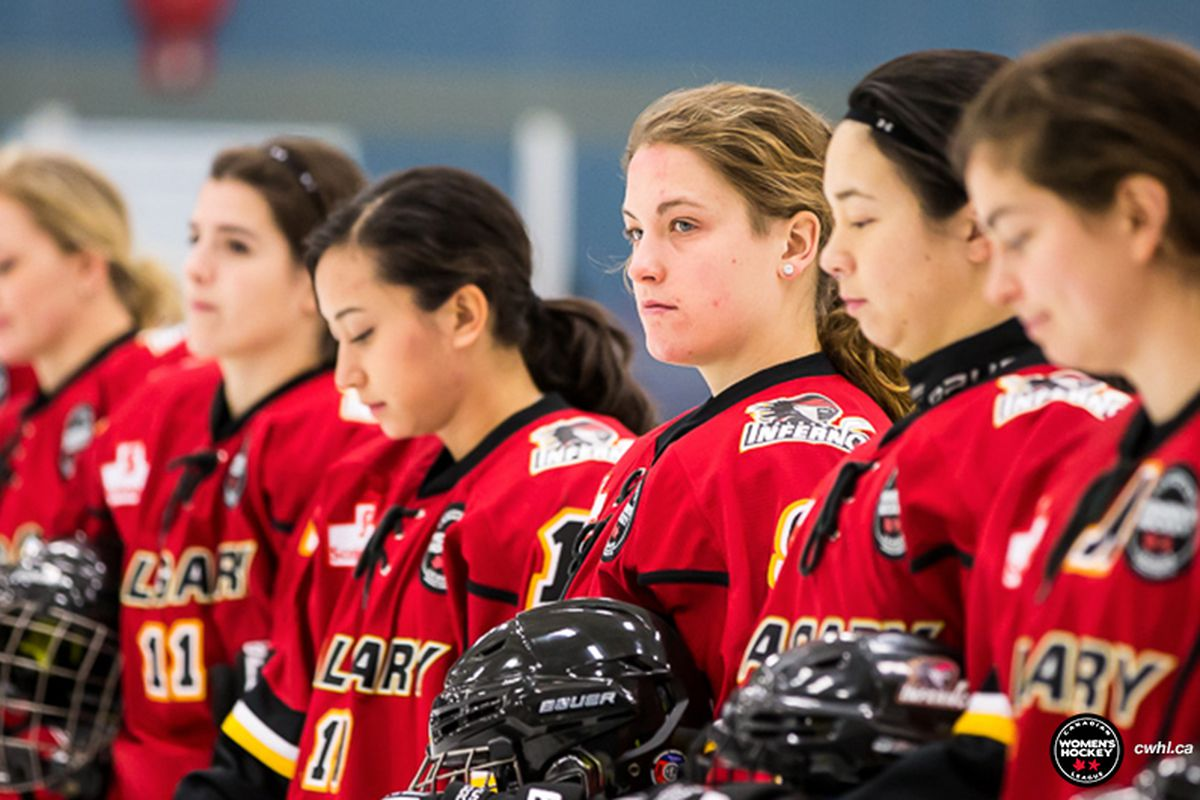CWHL Team Profile  Calgary Inferno - Eyes On The Prize 7d93e99b24
