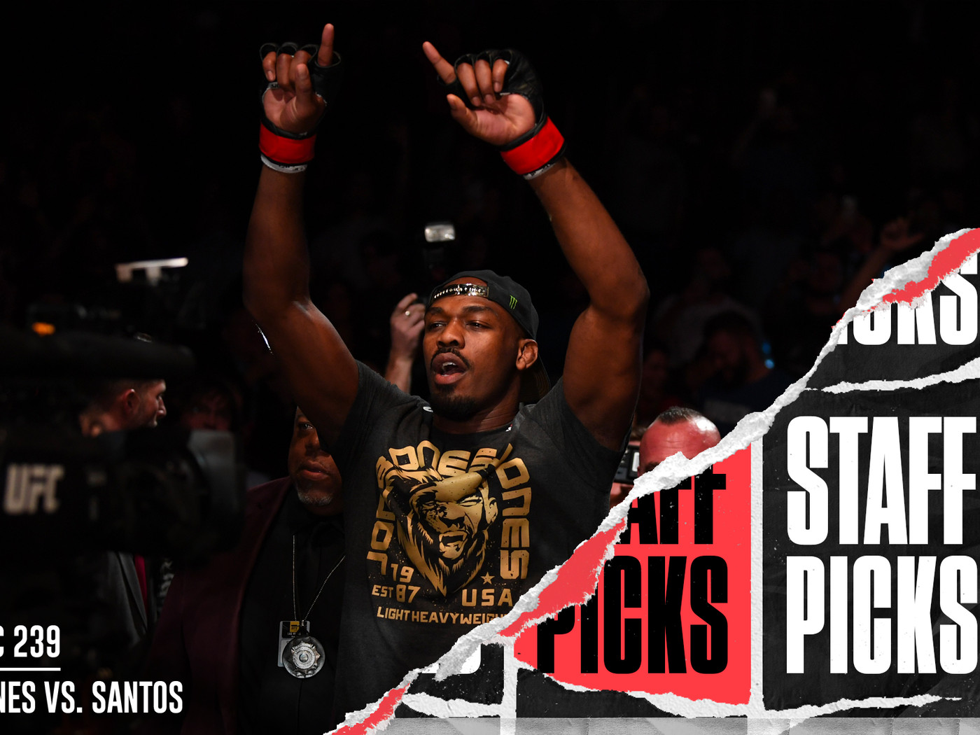 UFC 239: Jon Jones vs  Thiago Santos staff picks and