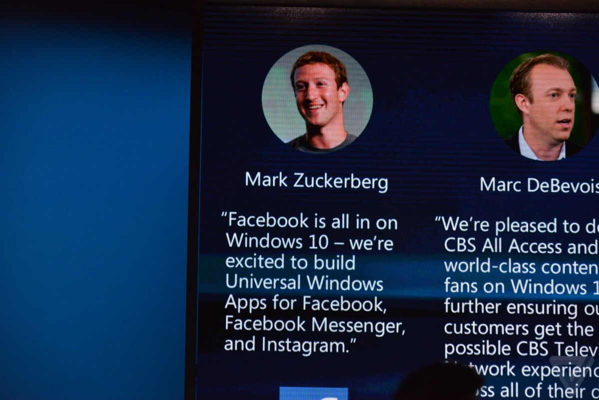 Facebook is making Windows 10 apps for Messenger and