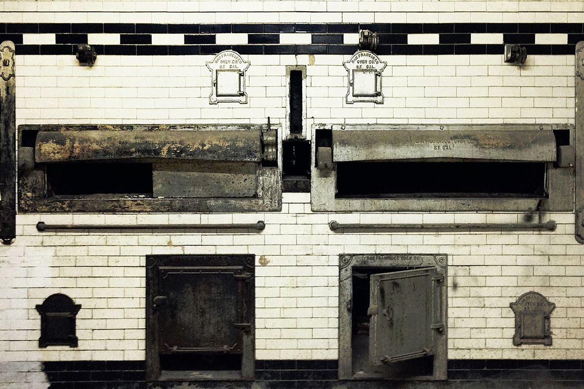 Montesacro's brick oven, which has gotten a recent facelift.