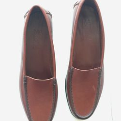 Martiniano brown leather loafers, $195 (were $497)
