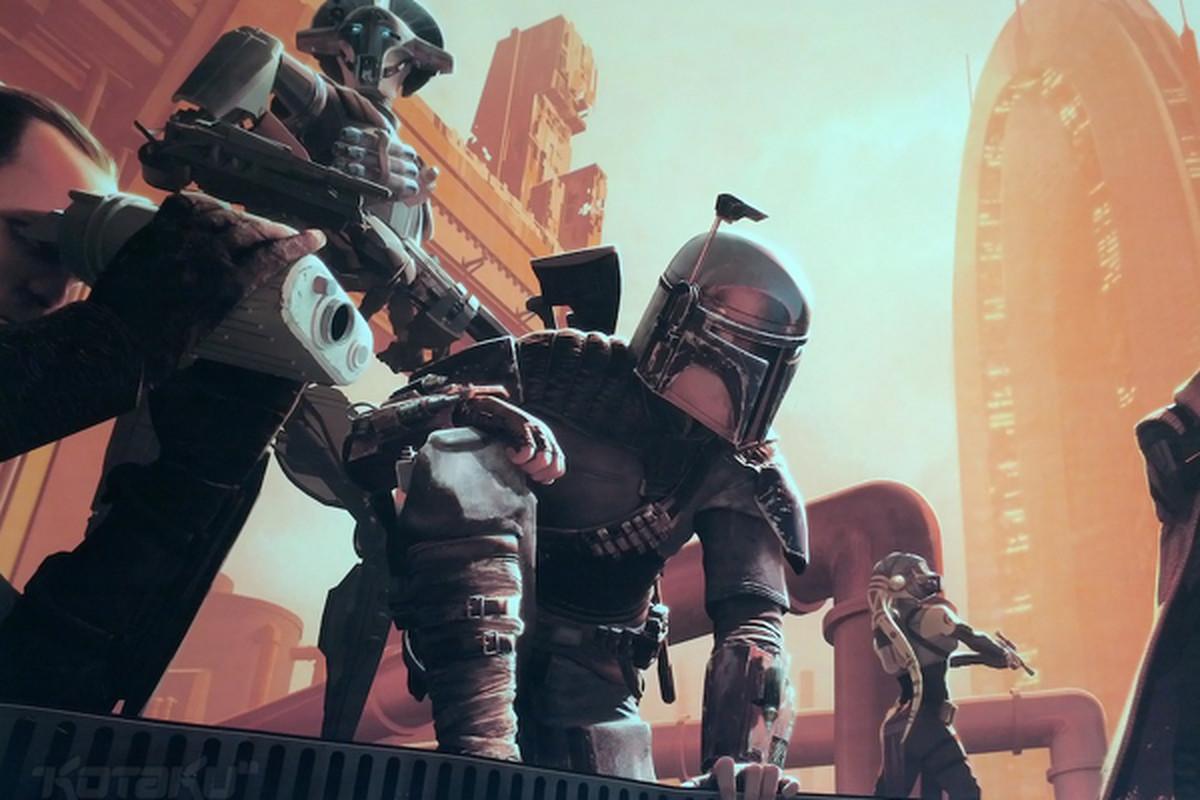Star Wars 1313 Boba Fett concept art   Kotaku