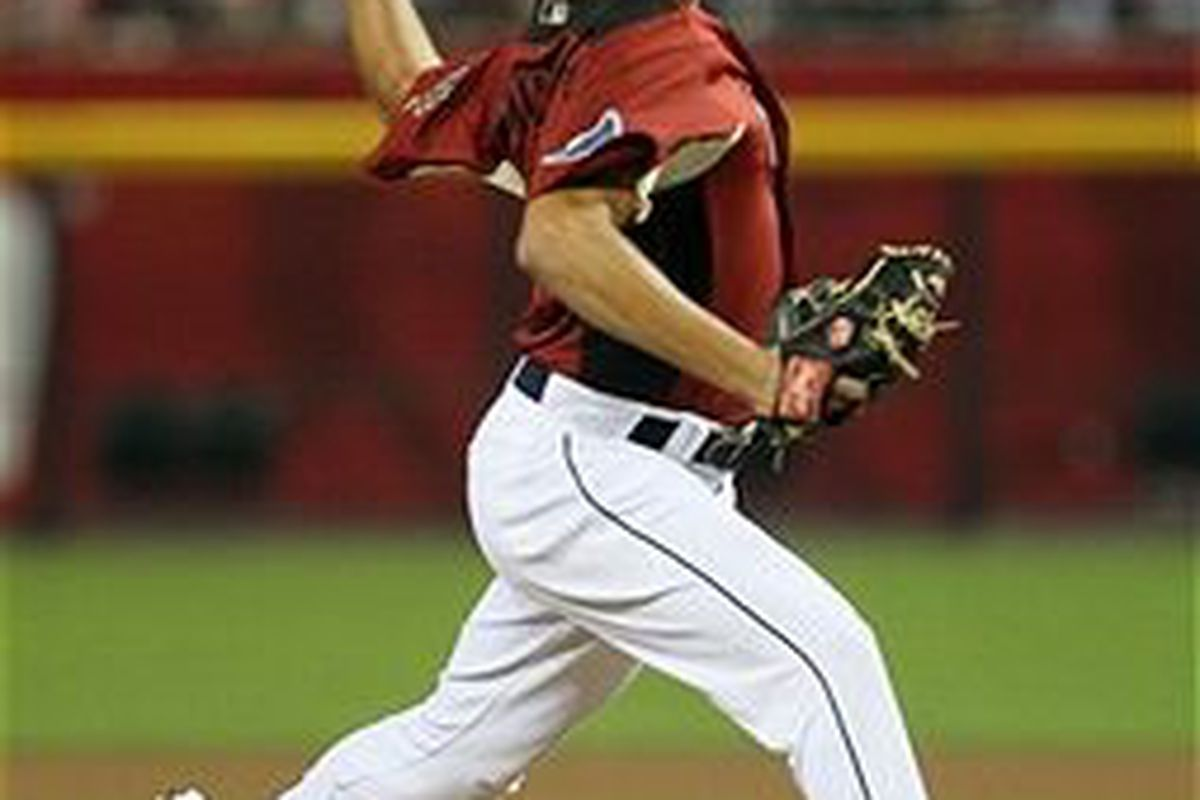 Tampa Bay Rays prospect Matt Moore (Photo by Jeff Gross, Getty Images)