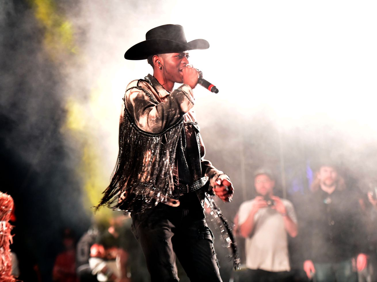 Singer Lil Nas X performs onstage during the Stagecoach Music Festival on April 28, 2019, in Indio, California.