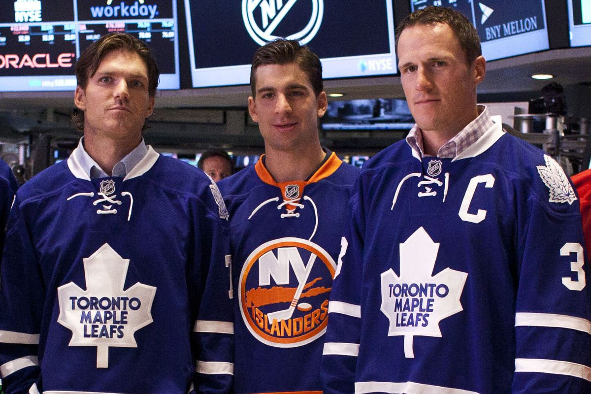 NHL Stars Ring Opening Bell At New York Stock Exchange