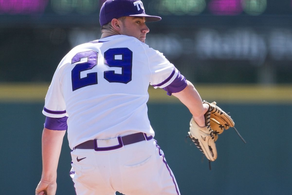 Brandon Finnegan will look to get TCU off to a hot start this weekend.