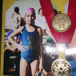 Susie Cruz's medals are on display in her bedroom. | Provided