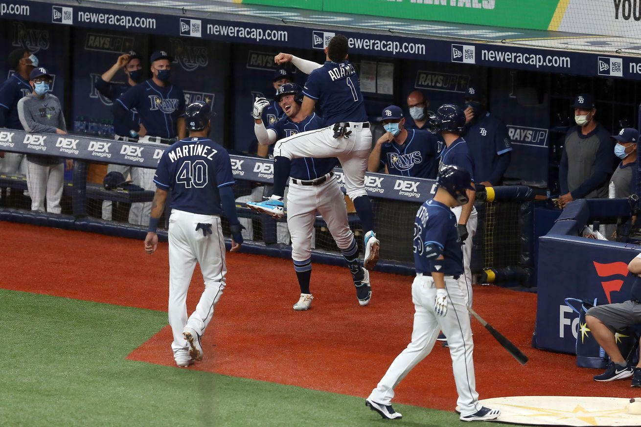MLB: AUG 25 Orioles at Rays
