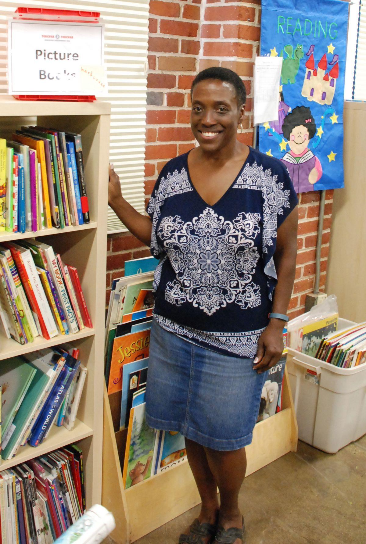 Gwen Vann, a retired Jeffco teachers, spearheaded the Teacher 2 Teacher Educators Consignment Sale.
