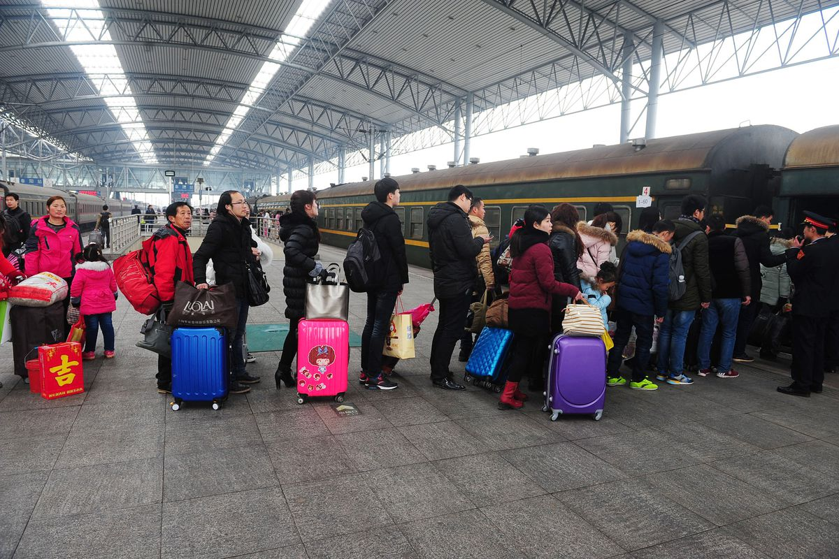 Travel Peak Appears At End Of Chinese Spring Festival Holiday