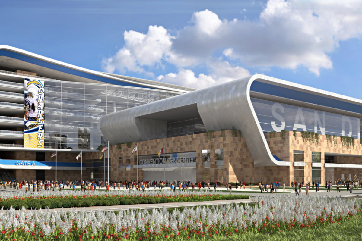 San Diego Chargers downtown NFL stadium