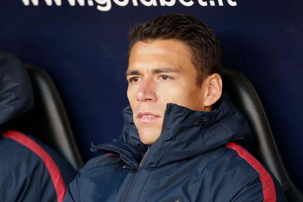 Genoa v AS Roma - Italian Serie A