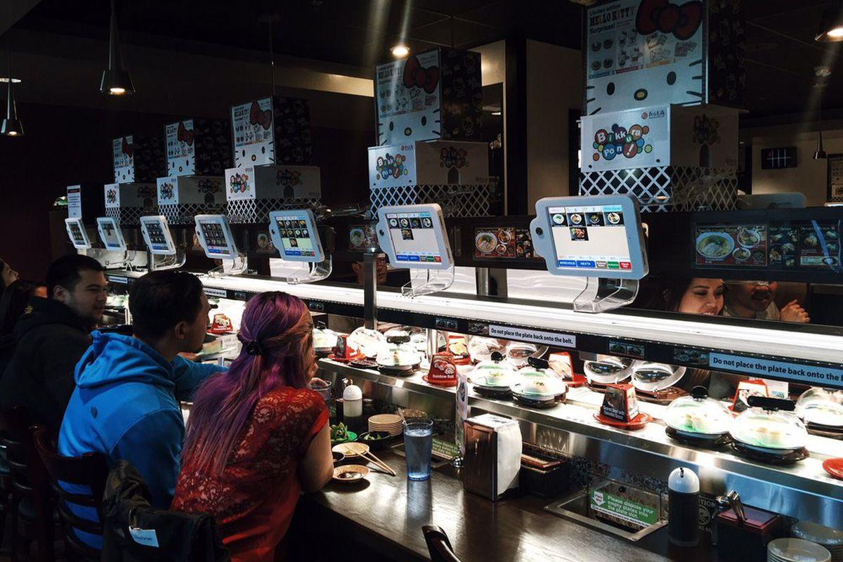 Kula Revolving Sushi Bar in California