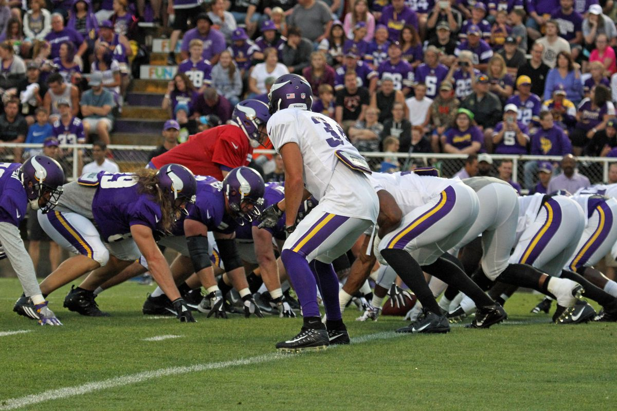 463196f06 The final night practice in Mankato gave some great insight into who will  be impact players for the Vikings in 2017. Thad Chesley