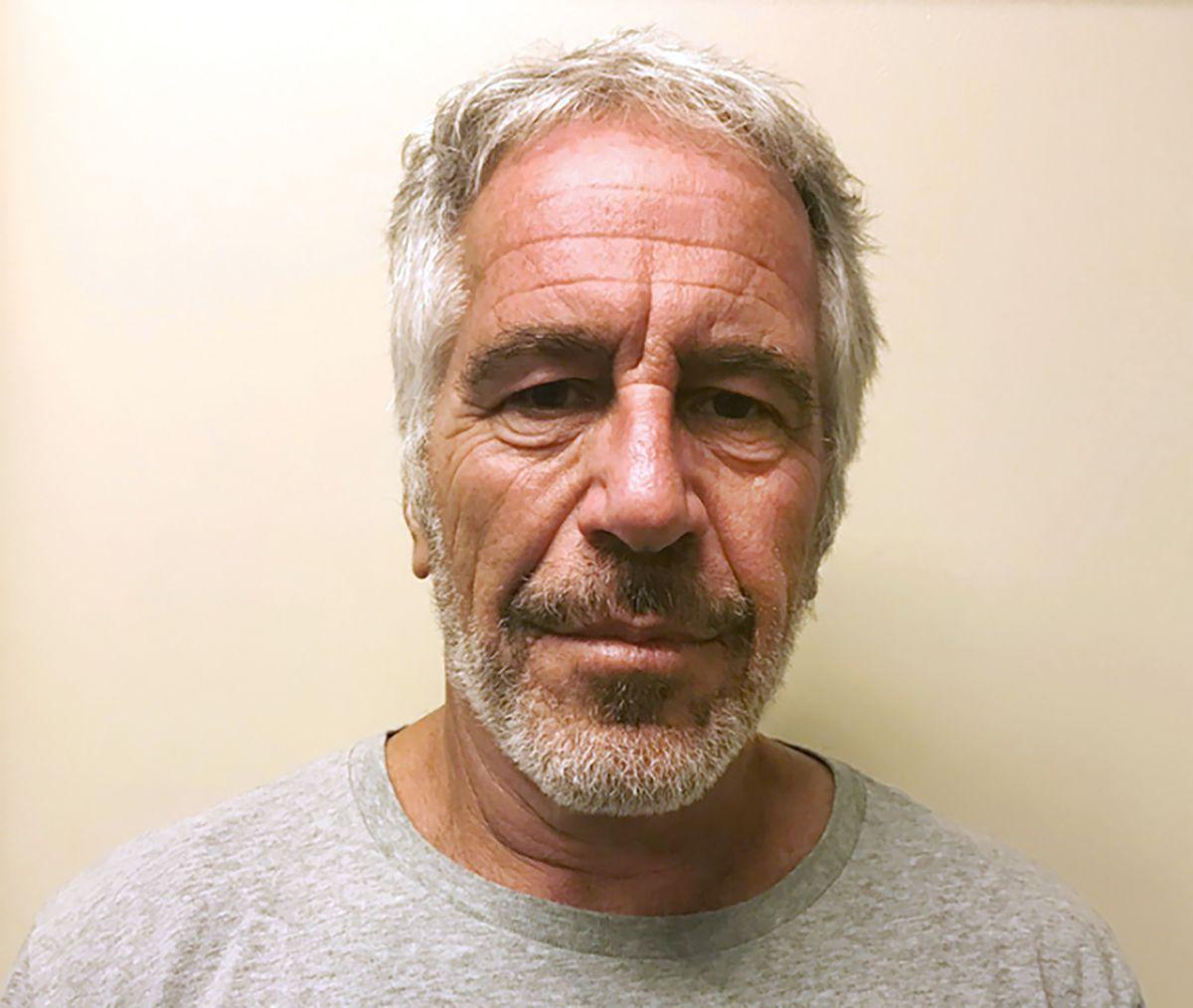 Jeffrey Epstein file photo
