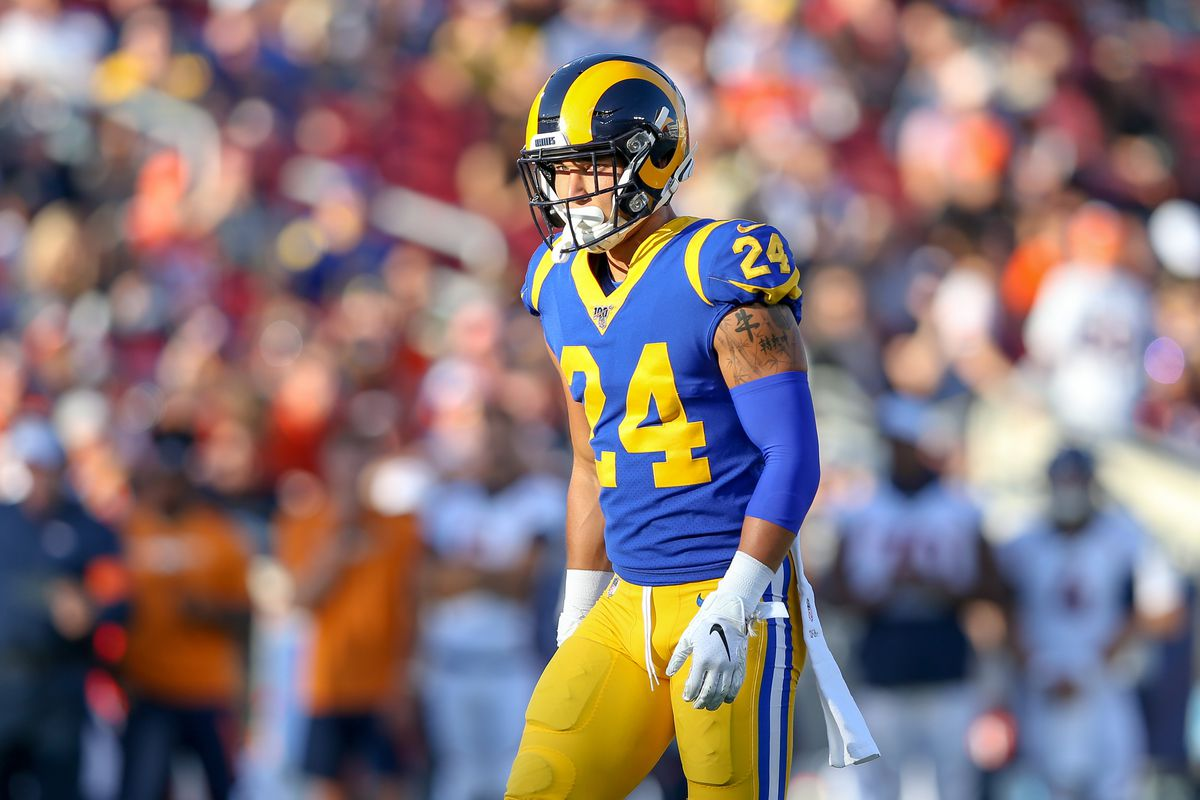new style 04fa6 57ac5 Examining the snap share between LA Rams' Bryce Hager and ...