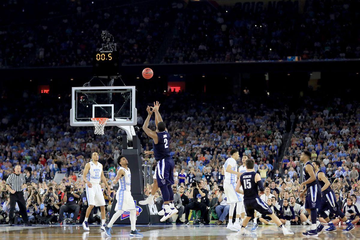 NCAA Men's Final Four - National Championship - Villanova v North Carolina - Kris Jenkins hits the game-winning shot