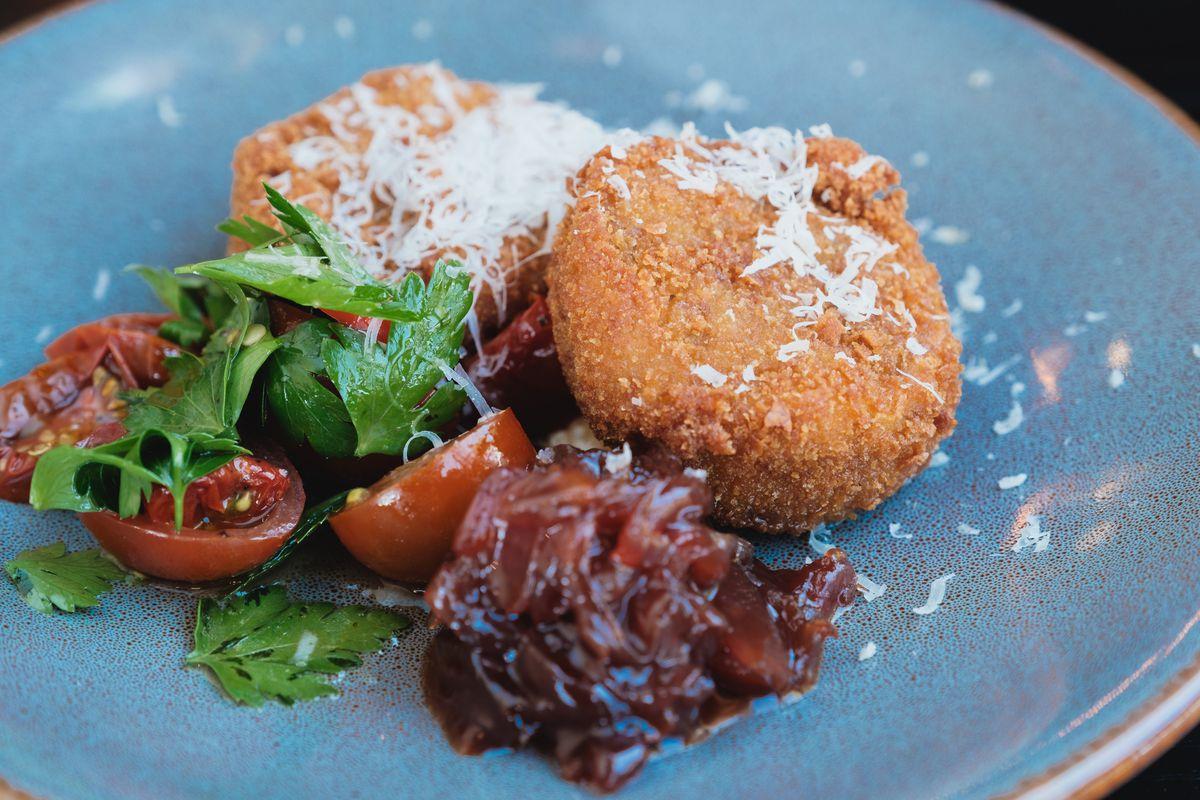 Guancia fritti alla amatriciana at Locale Italian Kitchen