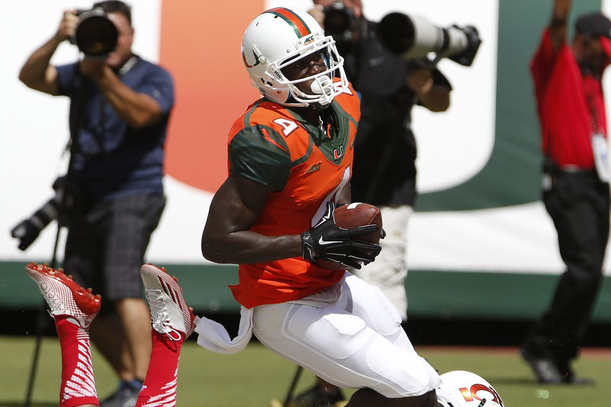 Canes WR Phillip Dorsett. Maybe Want