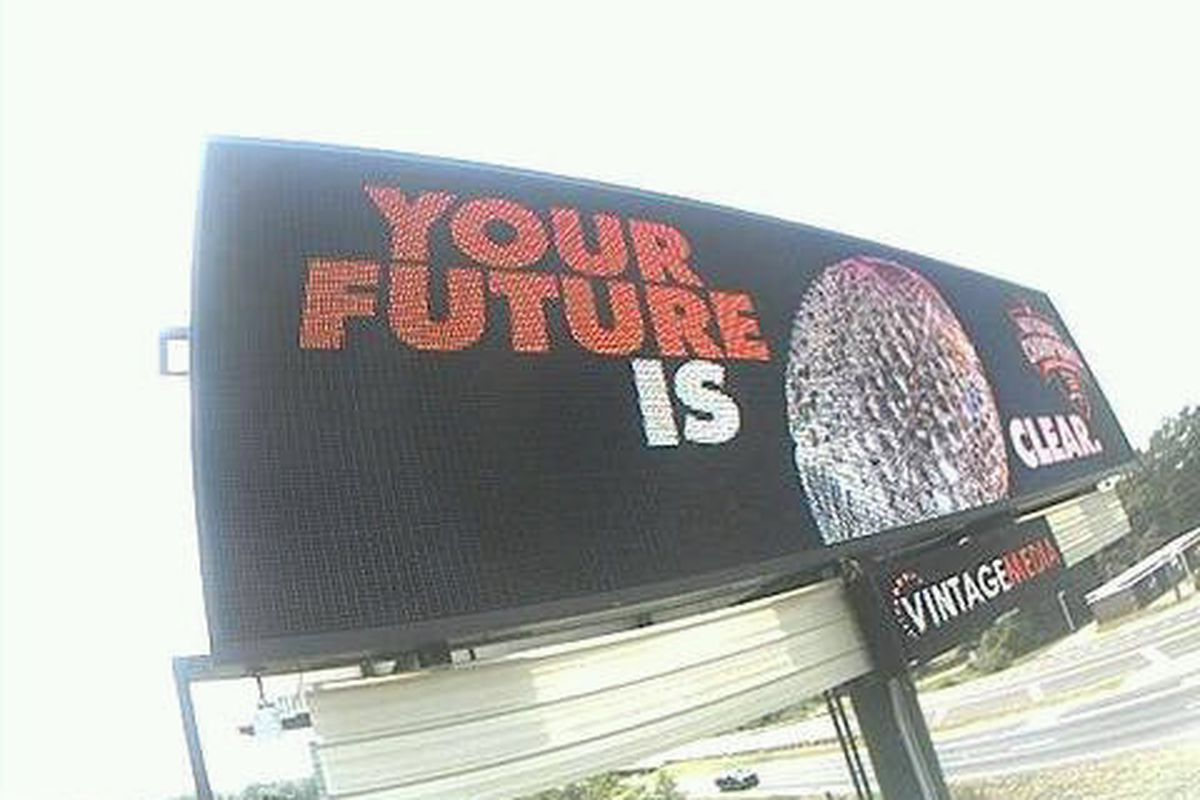 These billboards began popping up around Atlanta, Birmingham and Montgomery last week. Someone keep an eye on Harvey Updyke.