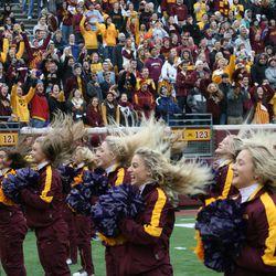 Dance team likes to flip their hair around