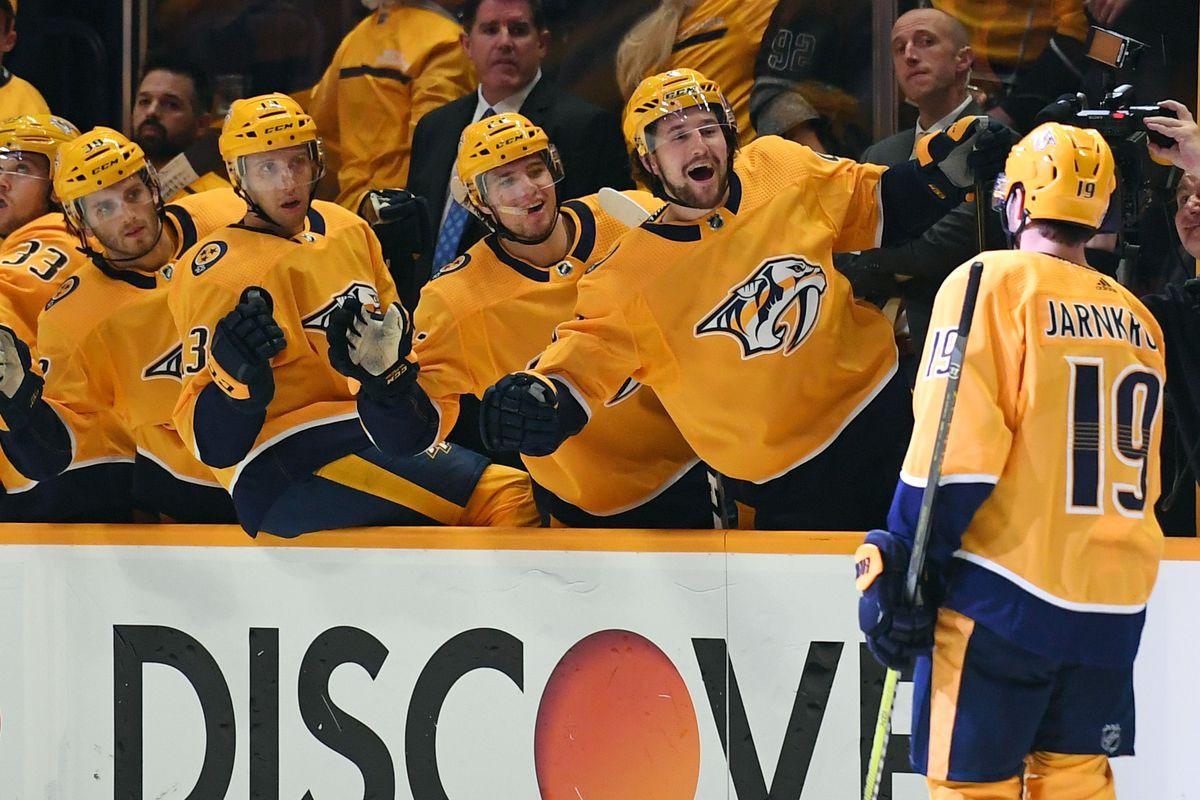 NHL: Vegas Golden Knights at Nashville Predators