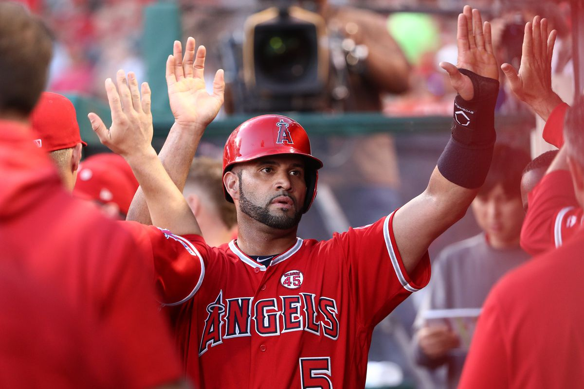 Angels seem to(?) retaliate against Marisnick and Astros in 7-2 win