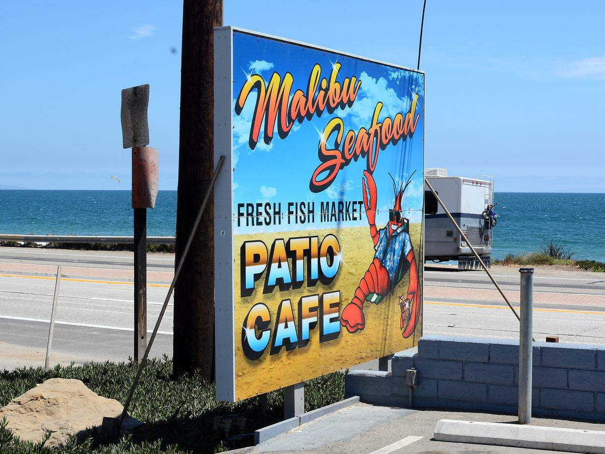 Ocean breezes and fresh seafood on the Pacific Coast Highway at Malibu Seafood.