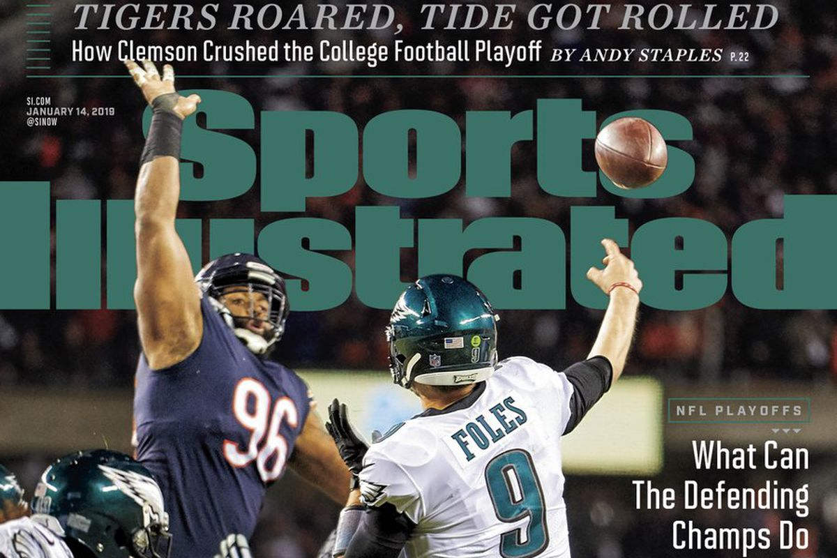 6371eafde49e81 Nick Foles featured on Sports Illustrated cover for sixth time in his  Eagles career