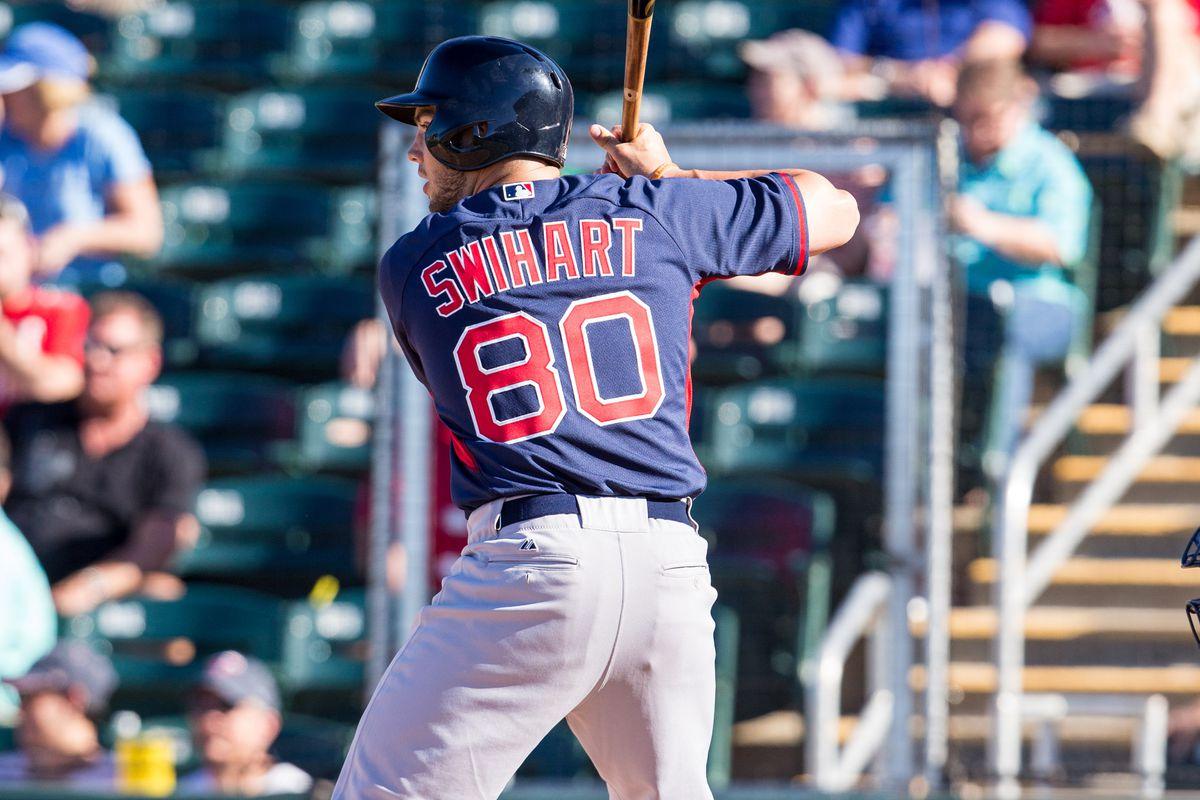 Red Sox catcher Blake Swihart.