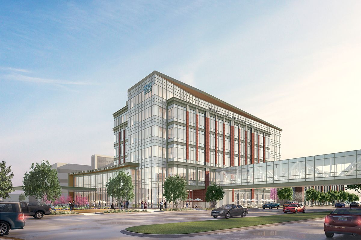 henry ford hospital breaks ground on cancer center near new center