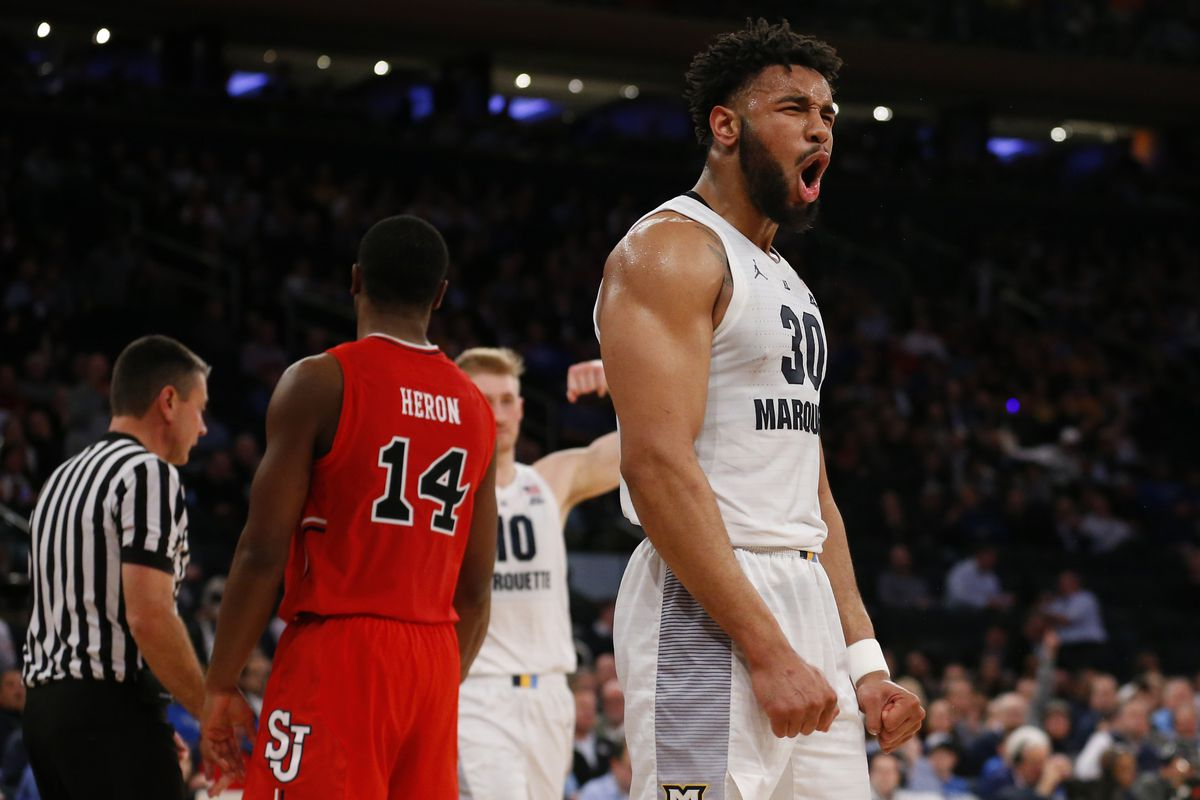 NCAA Basketball: Big East Tournament-Marquette vs St. John