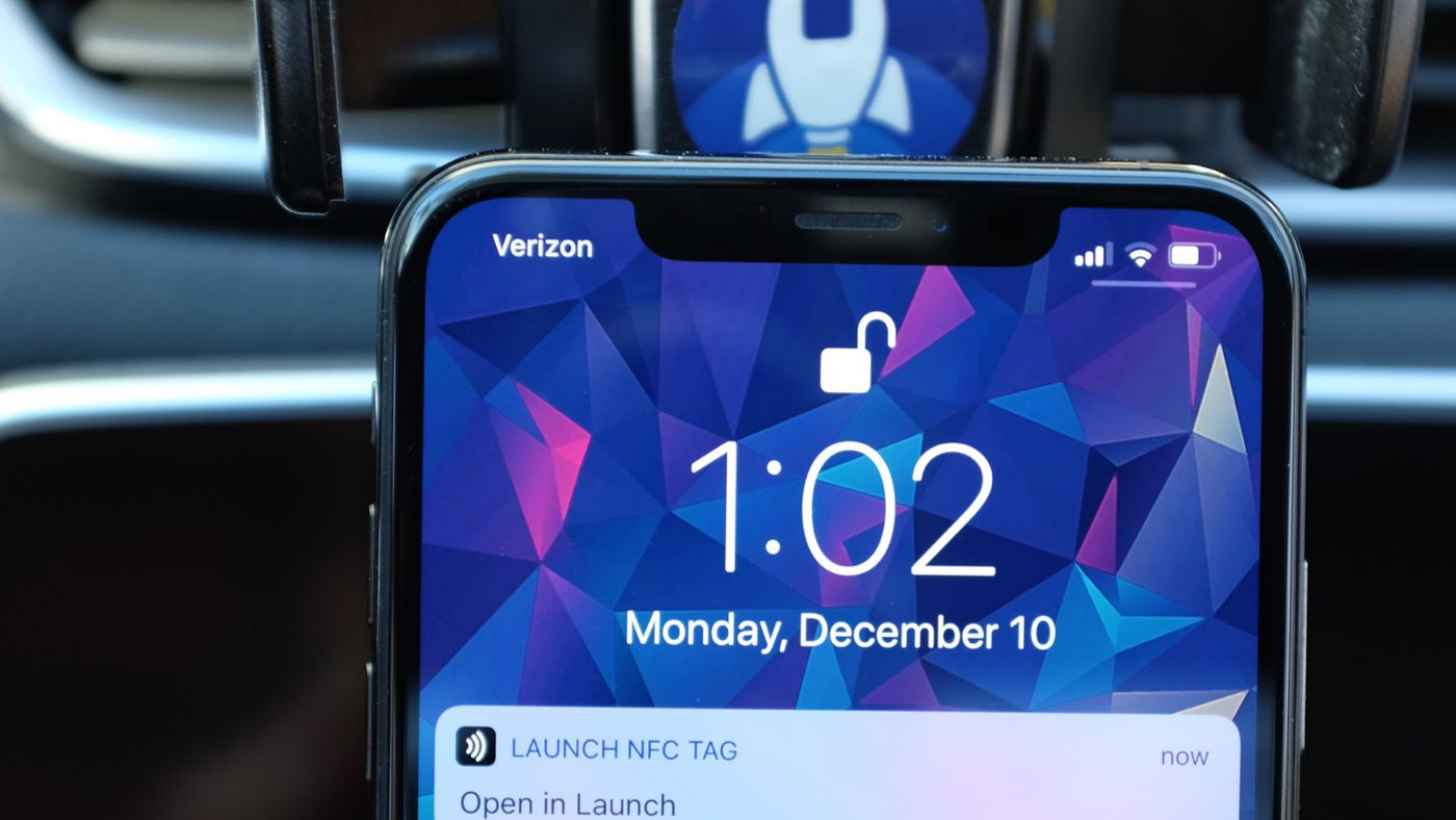 iPhones can now automate tasks using NFC with Launch Center Pro