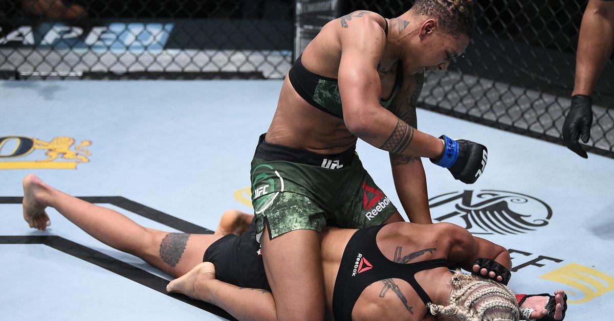 UFC on ESPN 15 video: Shana Dobson pulls off huge upset with second round stoppage against Mariya Agapova