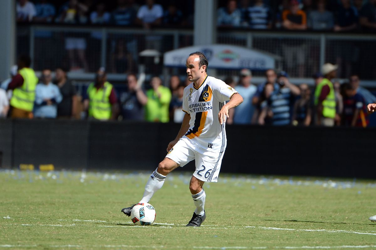 The Los Angeles Galaxy play hosts to the Seattle Sounders on Sunday afternoon.