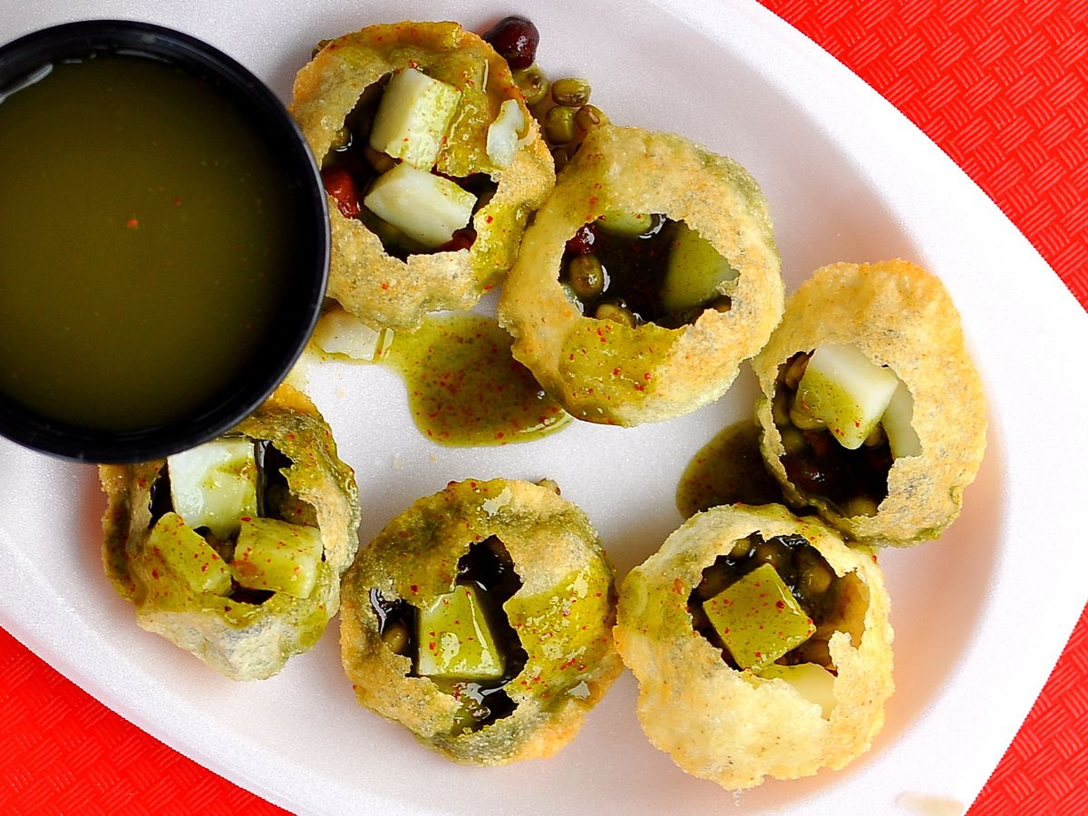 For wonderful Indian sweets and snacks: Surati Farsan Mart.