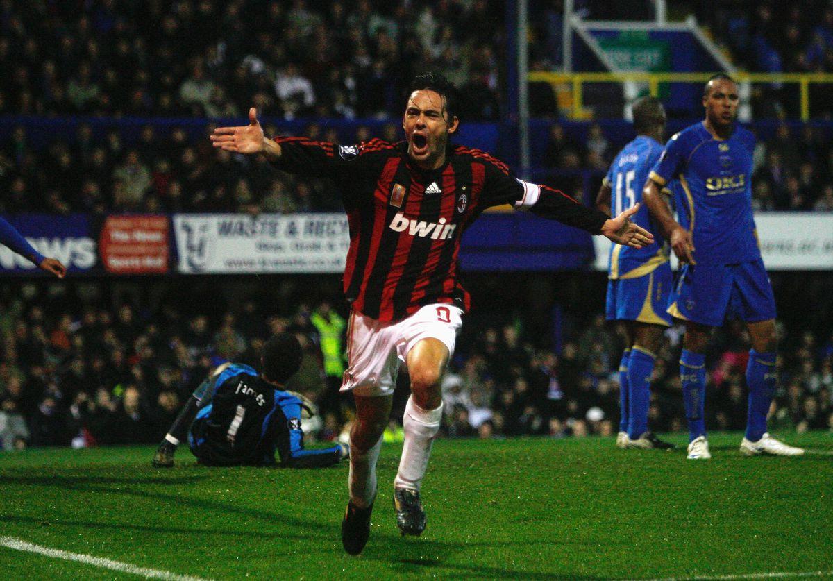 Portsmouth v AC Milan - UEFA Cup