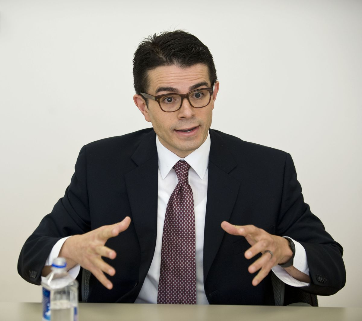 <small><strong>Michael Diaz is an aldermanic candidate for the 45th Ward in the City of Chicago.   Richard A. Chapman/Sun-Times</strong></small>