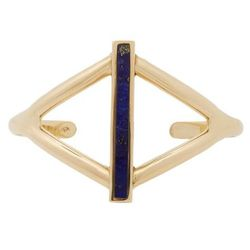 """Pamela Love lapis """"Balance"""" cuff, <a href=""""http://www.barneys.com/on/demandware.store/Sites-BNY-Site/default/Product-Show?pid=00505035672739&cgid=women&index=41"""">$189</a> (was $310) at Barneys"""